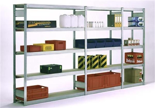 regale zu sonderkonditionen f r lager b ro oder archiv betriebseinrichtungen lenz. Black Bedroom Furniture Sets. Home Design Ideas